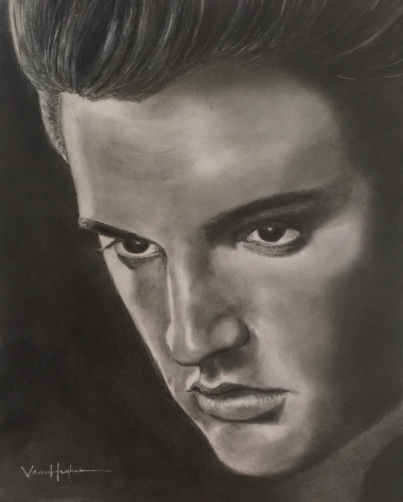 Elvis Presley by Vannagain